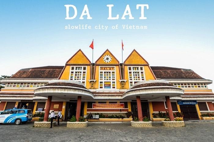 Nhà ga Đà Lạt - Địa điểm du lịch luôn thu hút mọi du khách