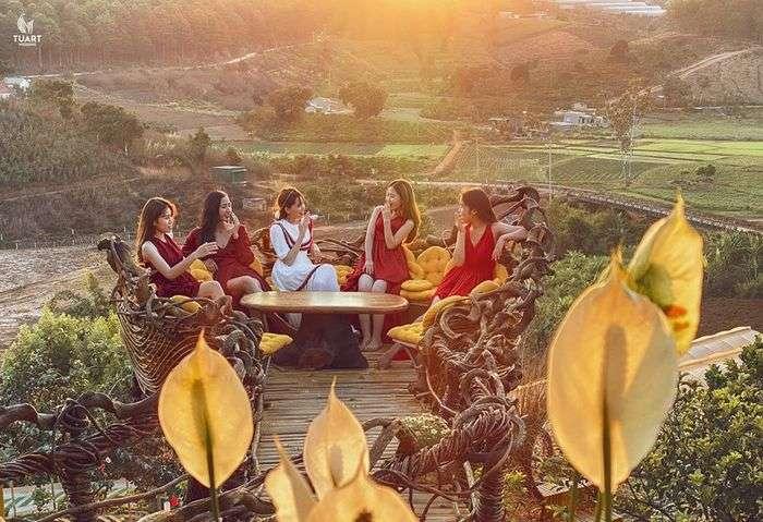 Khu du lịch Thúy Thuận Coofee ở Đà lạt