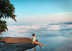 Săn mây cầu đăt- Điểm cầu gỗ săn mây Đà Lạt lý tưởng không nên bỏ qua