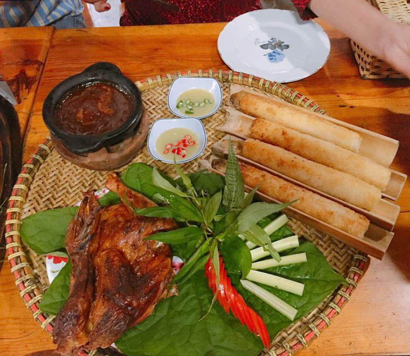 Quán gà nướng cơm lam Đà Lạt ngon nhất là THảo Nguyên