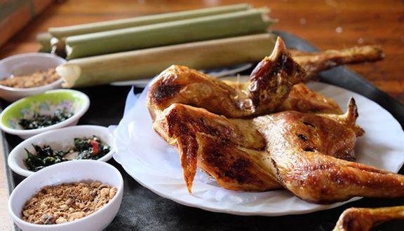 Quán gà nướng cơm lam Đà Lạt ngon nhất là Tuyet Hoa