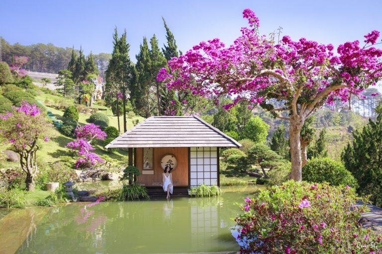 Review Quê Garden Đà Lạt - Tiểu Nhật Bản hấ dẫn du khách